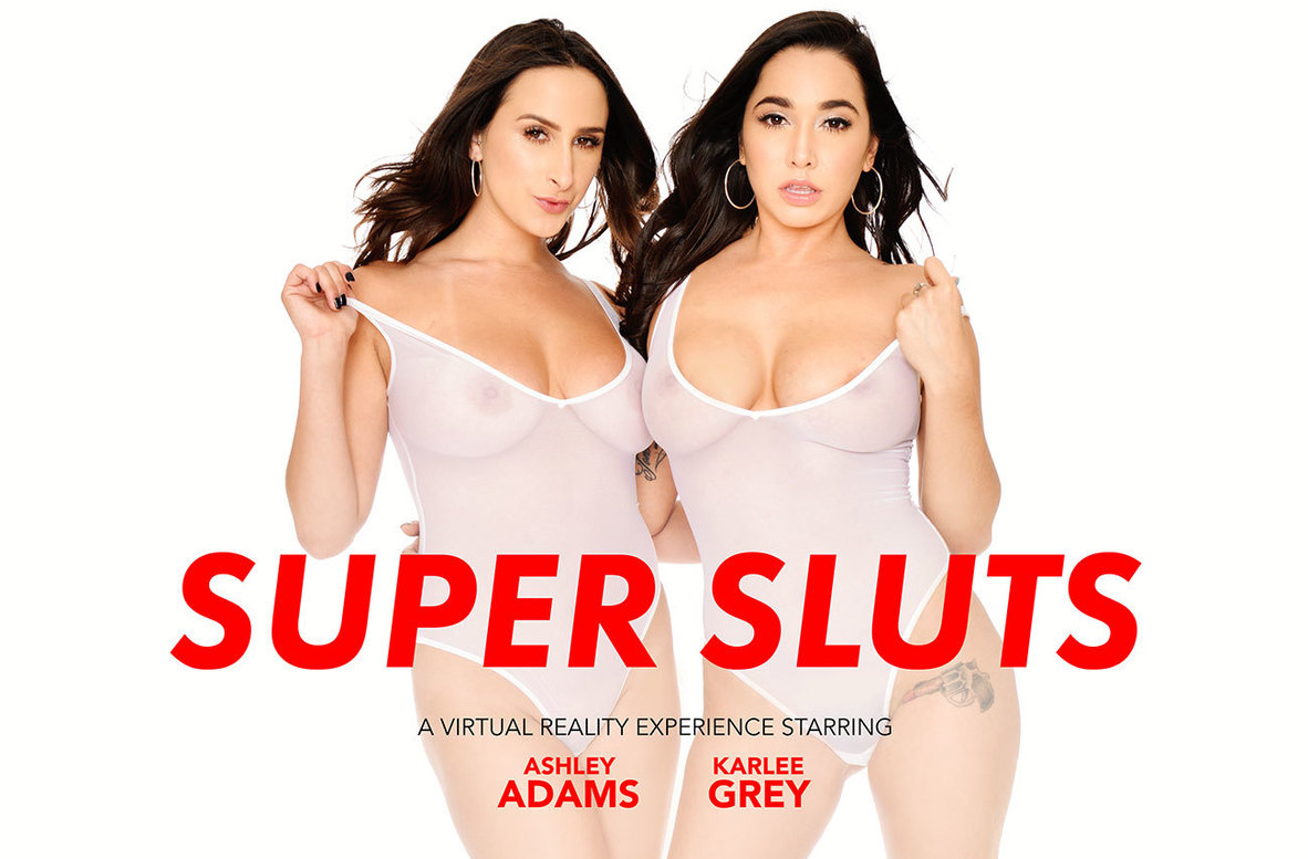 Watch Ashley Adams, Karlee Grey and Dylan Snow VR video in Naughty America