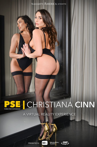 Christiana Cinn fucking in the bed with her lingerie vr porn