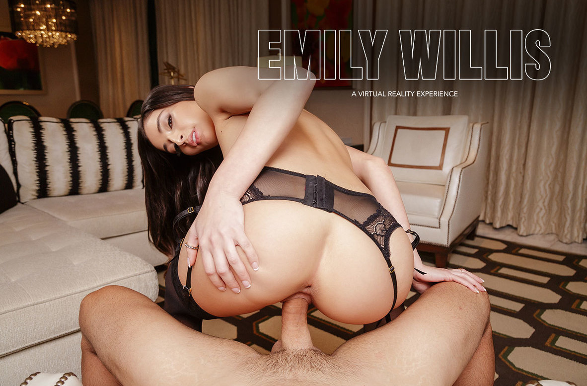 Watch Emily Willis and Ryan Driller VR video in Naughty America