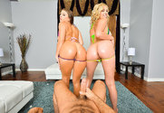 Sophia Lux & Gia Derza & Chad White in Naughty America
