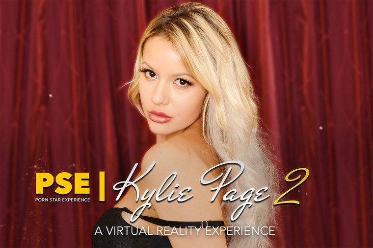 Dangerous VR porn fun with femme fatale porn star Kylie Page