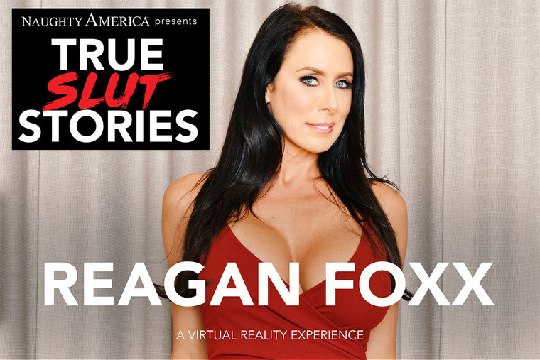 Your Wife Reagan Foxx Fucks and Tells and Fucks in VR Porn