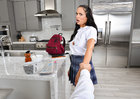 Sofi Ryan fucking in the kitchen with her athletic body - Sex Position 2