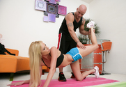 Victoria White & Derrick Pierce in Naughty Athletics