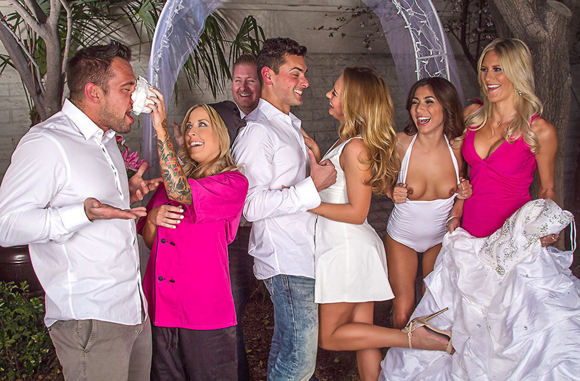 Watch Carter Cruise and Ryan Driller 4K video in Naughty Weddings
