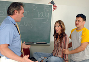 Chloe Morgan & Anthony Rosano & Joey Ray in Naughty Bookworms