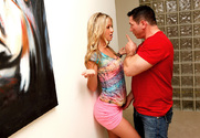 Mandy Armani & John Strong in Naughty Bookworms