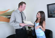 Missy Stone & Mark Wood in Naughty Bookworms