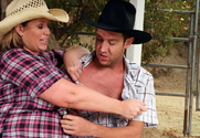 Lisa Sparxxx & Will Powers in Naughty Country Girls