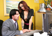 Adrenalynn & Charles Dera in Naughty Office