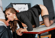 Alex Chance & Richie Calhoun in Naughty Office