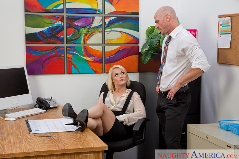 Naughty office hollywood ash