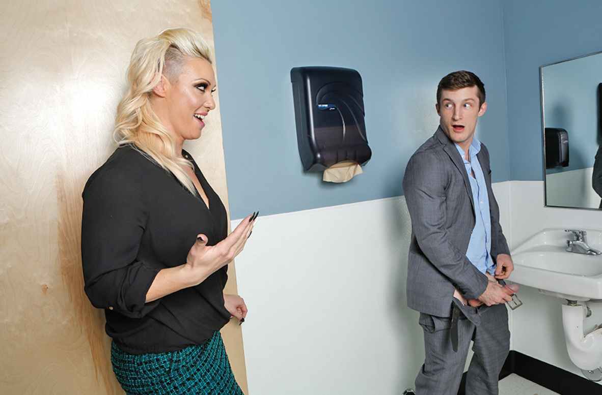 Watch CJ Jean and Brick Danger 4K video in Naughty Office