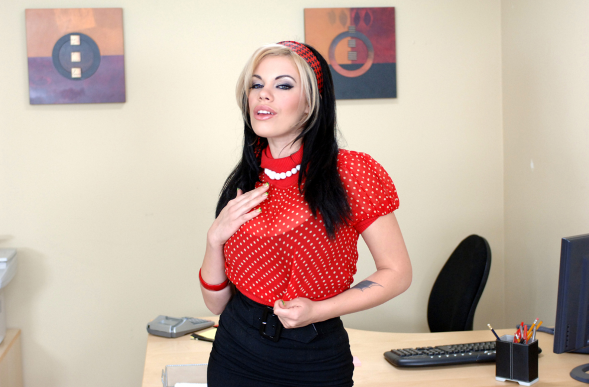 Watch Gia Paloma and Derrick Pierce video in Naughty Office
