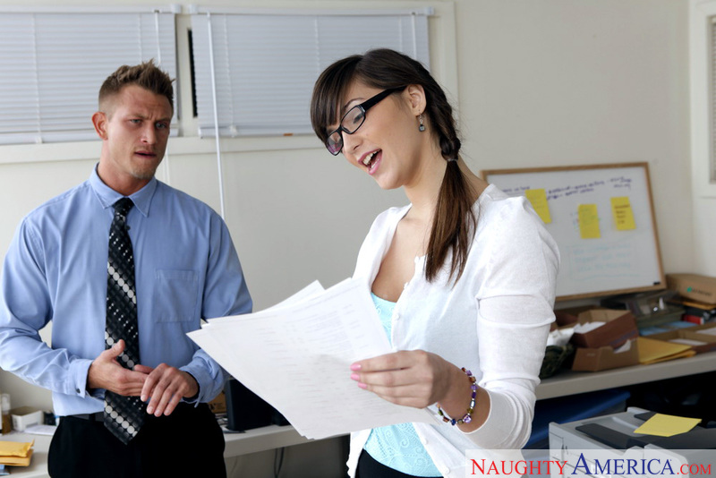 Creampie naughty michaels office holly