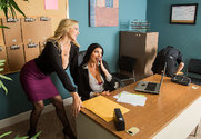 Julia Ann & Romi Rain & Tyler Nixon in Naughty Office