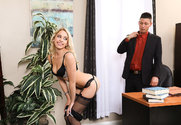 Khloe Kapri & Tyler Steel in Naughty Office