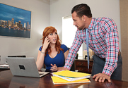 Lauren Phillips & Johnny Castle in Naughty Office