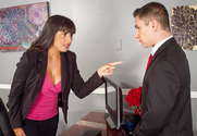 Mercedes Carrera & Brad Knight in Naughty Office