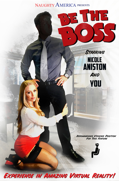 Watch Nicole Aniston's big tits bounce on her boss' dick!