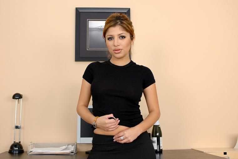 naughty office sativa rose -