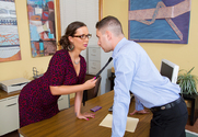 Sydney Leathers & Brad Knight in Naughty Office