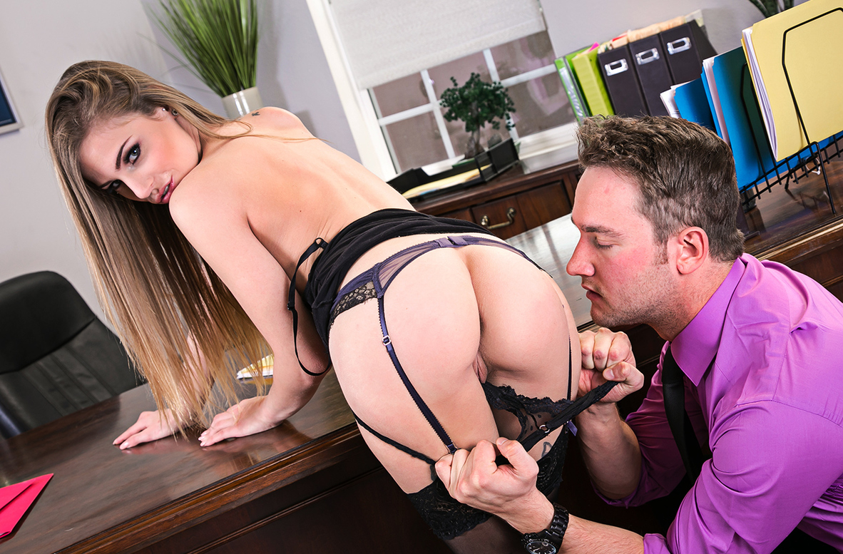 Watch Sydney Cole and Van Wylde 4K video in Naughty Office