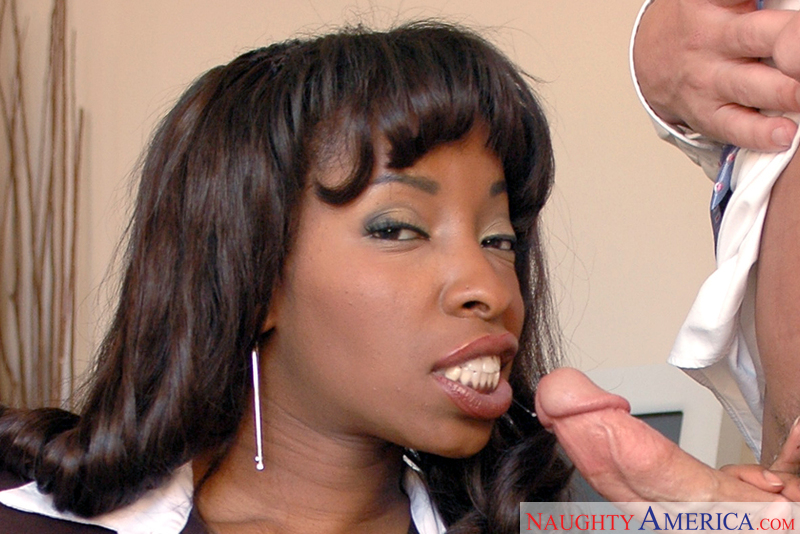 Naughty Office Vanessa Blue