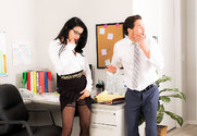 Veronica Avluv & Tyler Nixon in Naughty Office