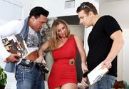 Devon Lee & Jerry & Marco Banderas in Seduced By A Cougar