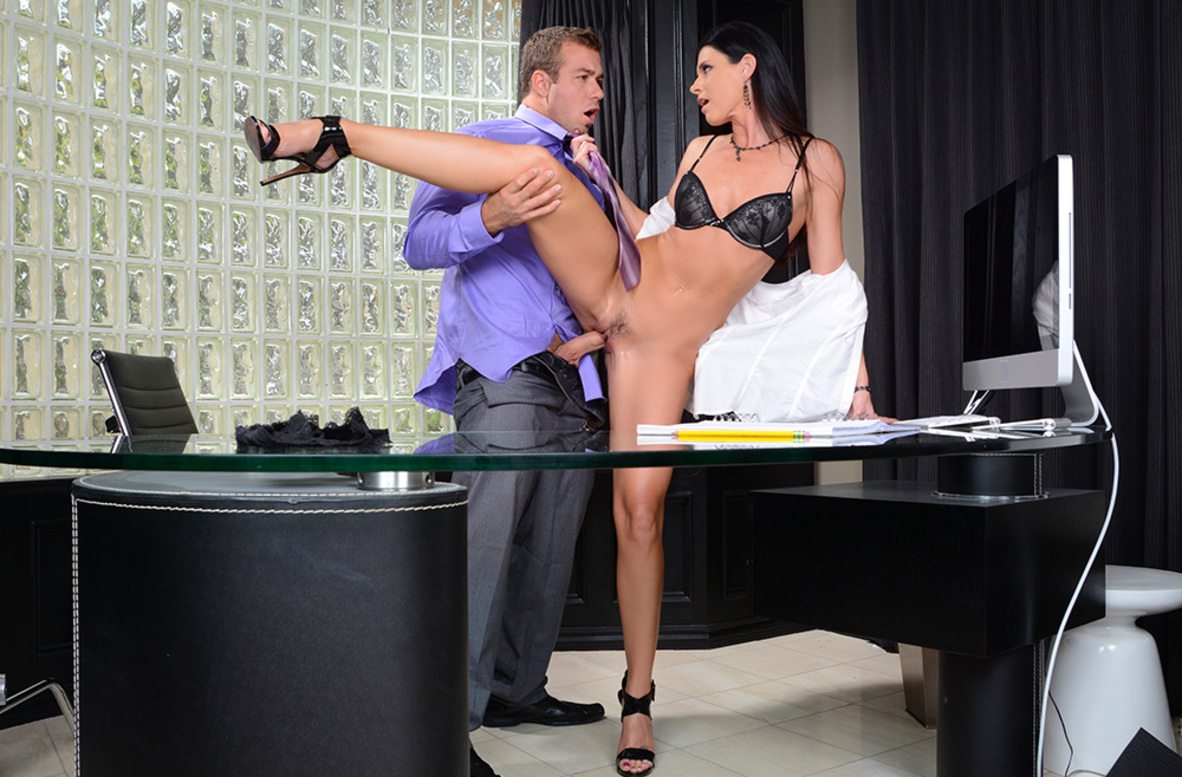 Watch India Summer and Chad White 4K video in Seduced By A Cougar