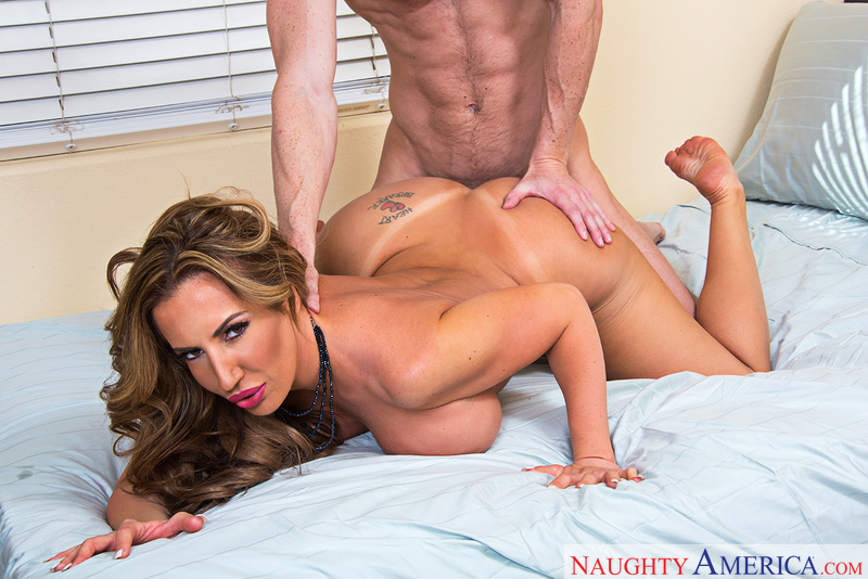 Richelle Ryan fucking in the hallway with her big tits - Sex Position 3
